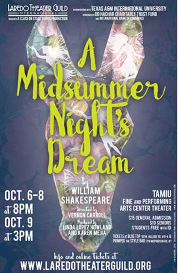 A Midsummer Night's Dream by William Shakespeare | Laredo